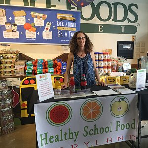 Lindsey Parsons at Whole Foods Annapolis